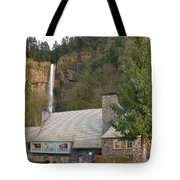Historic Multnomah Falls Lodge Tote Bag