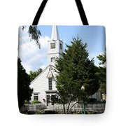 Historic Mystic Church - Connecticut Tote Bag