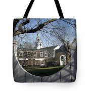 Historic Nantucket Church Tote Bag