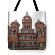 Historic Old Red Courthouse Dallas #1 Tote Bag