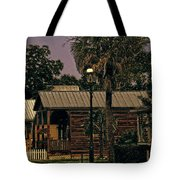 Historic Pensacola Muted Tones Tote Bag