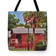 Historic Pensacola With Added Color Tote Bag