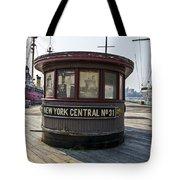 Historic Pier Tote Bag
