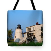 Historic Piney Point Lighthouse Tote Bag