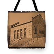 Historic Power Sepia Tote Bag