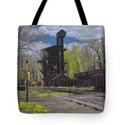 Historic Railroad Tote Bag