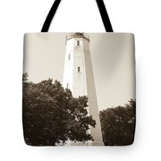 Historic Sandy Hook Lighthouse Tote Bag