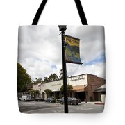 Historic Saratoga Village Tote Bag