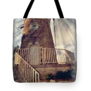 Historic Schonhoff Dutch Mill Tote Bag