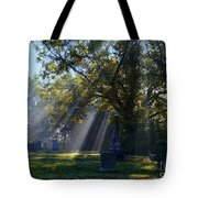 Historic Sibley Cemetery At Fort Osage Missouri Tote Bag