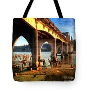 Historic Siuslaw River Bridge Tote Bag