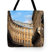 Historic Tenement Houses In Budapest Tote Bag