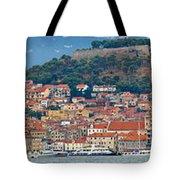Historic Town Of Sibenik Panorama Tote Bag