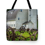 Historic Uniontown Washington Dairy Barn Tote Bag
