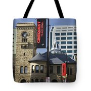 Historic Wing Of The San Jose Art Museum Tote Bag