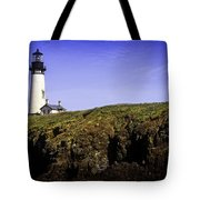 Historic Yaquina Lighthouse Tote Bag
