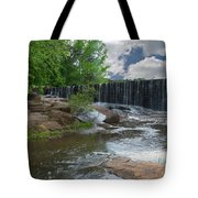 Historic Yates Mill Dam - Raleigh N C Tote Bag
