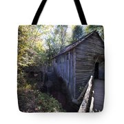 Historical 1868 Cades Cove Cable Mill Tote Bag