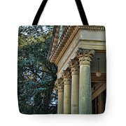 Historical Athens Alabama Courthouse Tote Bag