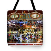 Historical Carousel In Tennessee Tote Bag