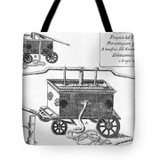 Historical Fire Engine 1728 Tote Bag