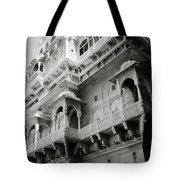 The History Of Rajasthan Tote Bag
