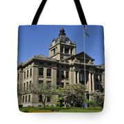 Historical Montesano Courthouse Tote Bag