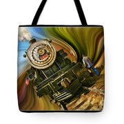 Historical Niles Southern Pacific 2472 Steam Engine 1921  Tote Bag