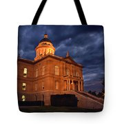Historical Placer County Courthouse Tote Bag