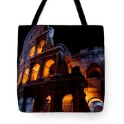 Historical Shapes In The Night Tote Bag