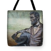 History - Abraham Lincoln Contemplates -  Luther Fine Art Tote Bag