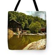 History Along Slippery Rock Creek Tote Bag