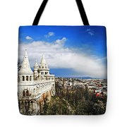 History Of Budapest Tote Bag
