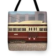 History Of The Toronto Streetcar Tote Bag