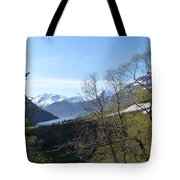 Hjorundfjord From Slogan Tote Bag