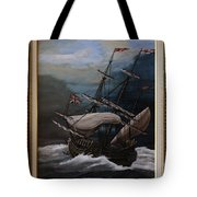 Hms Royal Prince 1670 Tote Bag