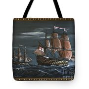 Hms Victory Early Wind Tote Bag