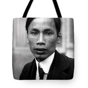 Ho Chi Minh In 1921 Tote Bag