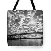Hoan Bridge Peak Thru Tote Bag