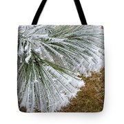 Hoarfrost 4 Tote Bag