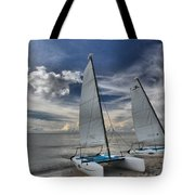 Hobie Cats On The Caribbean Tote Bag