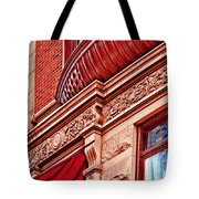 Hoboken Brownstone Art Tote Bag
