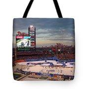 Hockey At The Ballpark Tote Bag