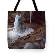 Hocking Hills Park Frozen Tote Bag