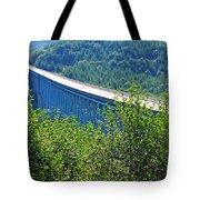 Hoffstadt Creek Bridge To Mount St. Helens Tote Bag