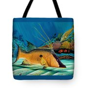 Hog And Filefish Tote Bag