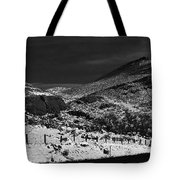 Hogbacks In The Snow Tote Bag