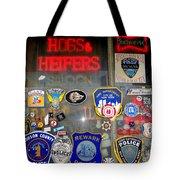 Hogs And Heifers Window Tote Bag