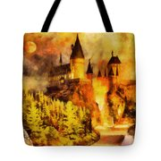 Hogwarts College Tote Bag