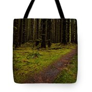 Hoh Rainforest Road Tote Bag